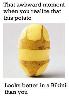 Bikini potato