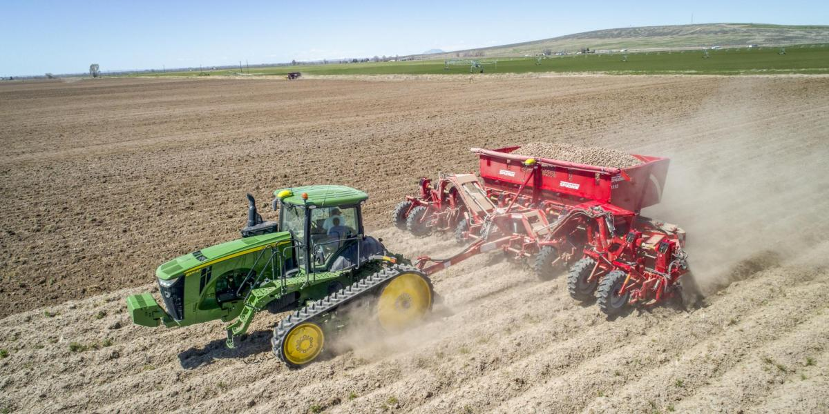 Videos: Potato planting and harvesting in North America